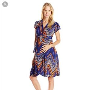 EverlyGrey wrap dress- Maternity